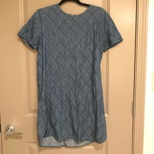 Cute blue (denim-ish) dress!